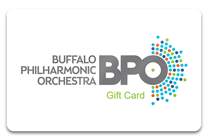Buffalo Philharmonic Orchestra Physical Gift Card
